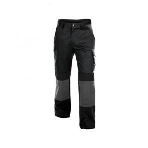 DASSY® Damenhose Boston 300g schwarz/zementgrau