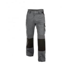 DASSY® Damenhose Boston 300g zementgrau/schwarz