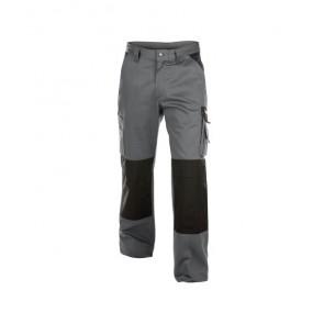 DASSY® Hose Boston 300g zementgrau/schwarz