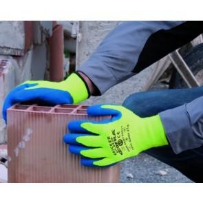 BRICKER 1 VE = 12 Paar Kälteschutz-Handschuh (leuc