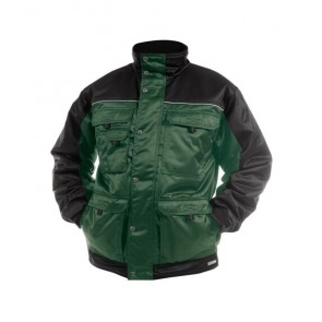 DASSY® Jacke Tignes flaschengrün/schwarz