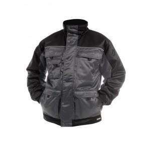 DASSY® Jacke Tignes zementgrau/schwarz