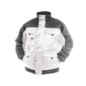 DASSY® Jacke Tignes weiß/zementgrau